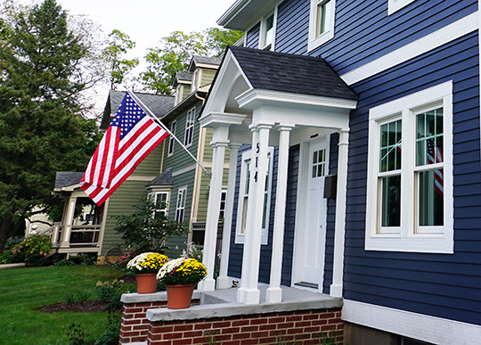 American remodel gaf roofing timberline maryland before and after