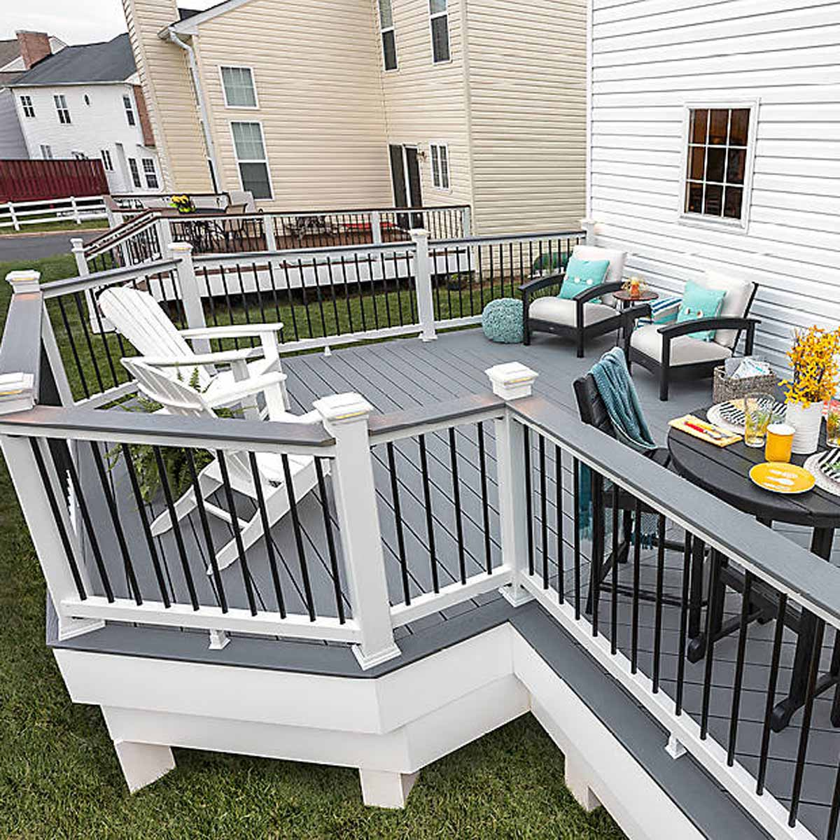 American remodel maryland Trex composite deck decking